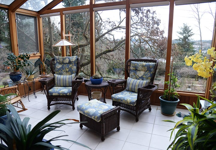 The Sun room a Cascade View Bed & Breakfast