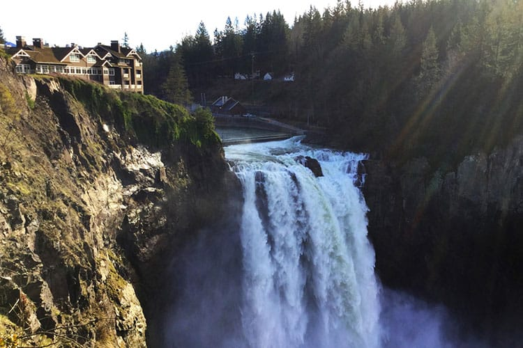 Snoqualmie Falls from A Cascade View Bed & Breakfast
